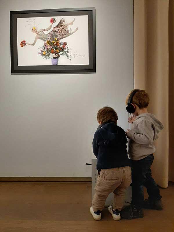 Castello Miradolo mostra Toscani bambini