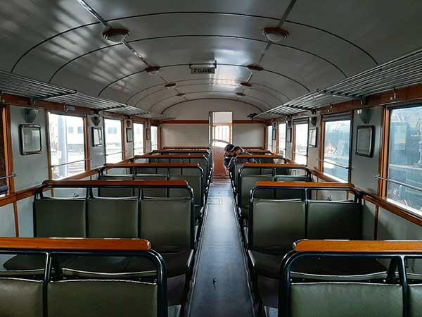 vecchia carrozza treni