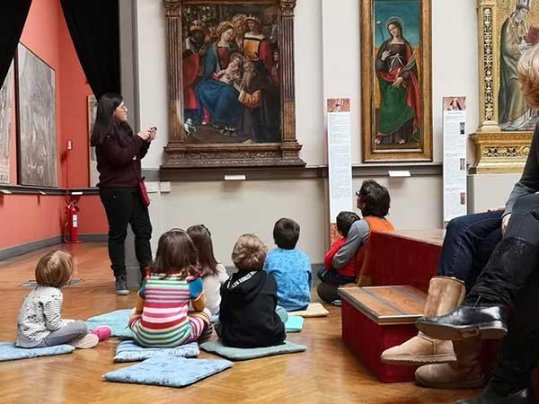 Museo Francesco Borgogna bambini