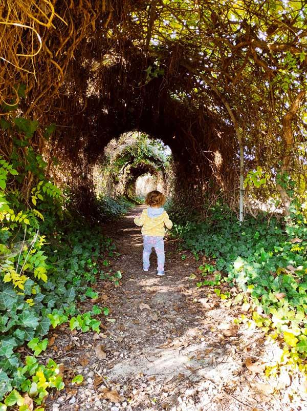 Munlab l'Ecomuseo dell'Argilla bima su un sentiero