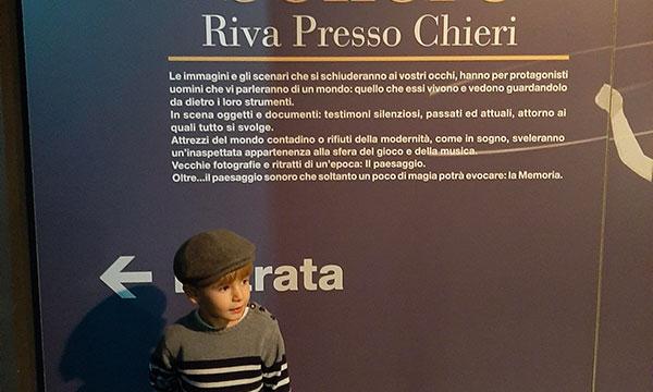 Museo del paeseggio sonoro con i bambini