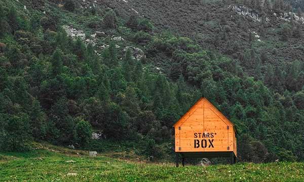 posti da sogno dove dormire con i bambini in Piemonte le star box