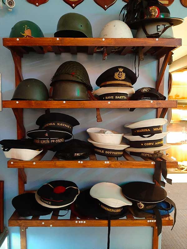 cappelli minitari