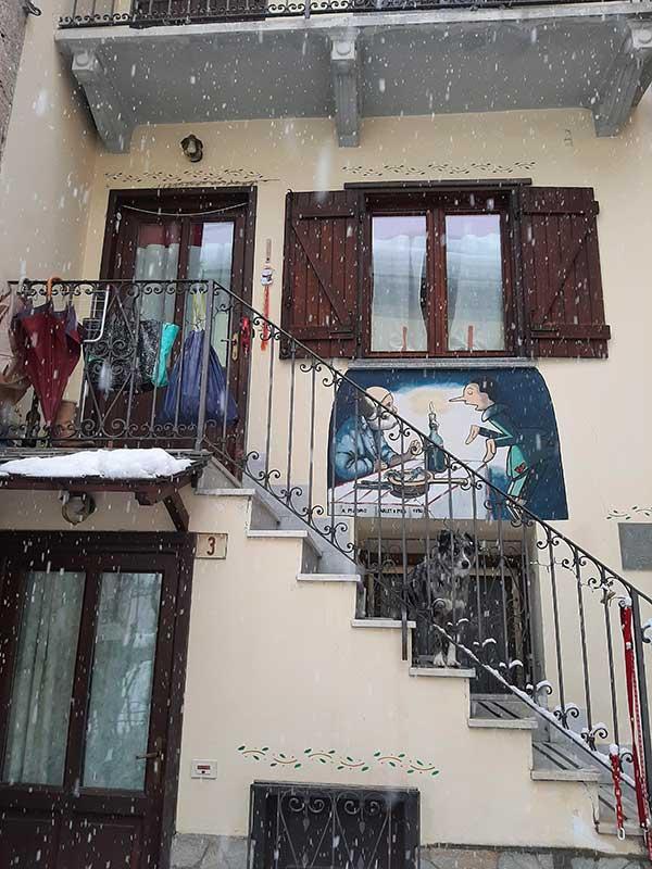 Vernate murales pinocchio